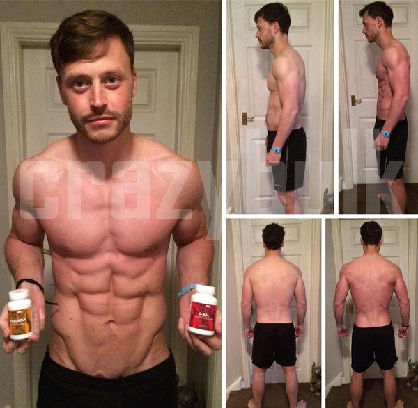 bodybuilding supplements before after picture