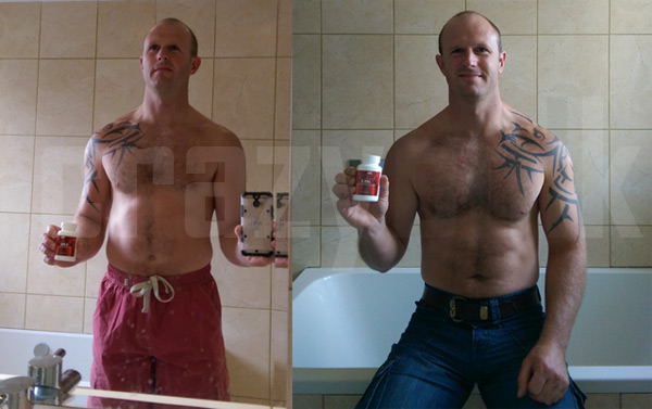James results after using Dianabol Anabolic steroid
